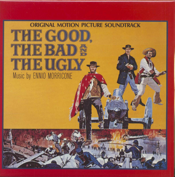 The Good, The Bad And The Ugly - Soundtrack (LP)
