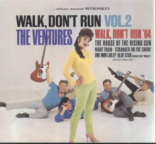 Vol.2, Walk Don't Run...plus Digipack