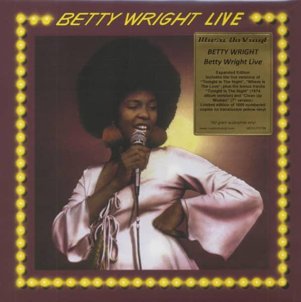 Betty Wright Live (LP, 180g Yellow Vinyl, Ltd &ampamp; Numbered)