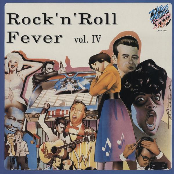 Rock & Roll Fever Vol.4 (LP)