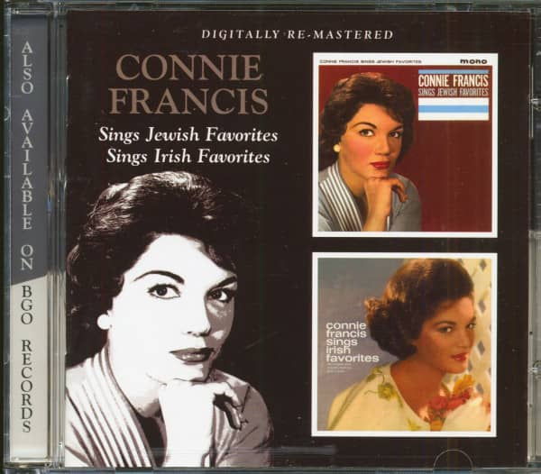 Connie Francis Sings Jewish & Irish Favorites (CD)