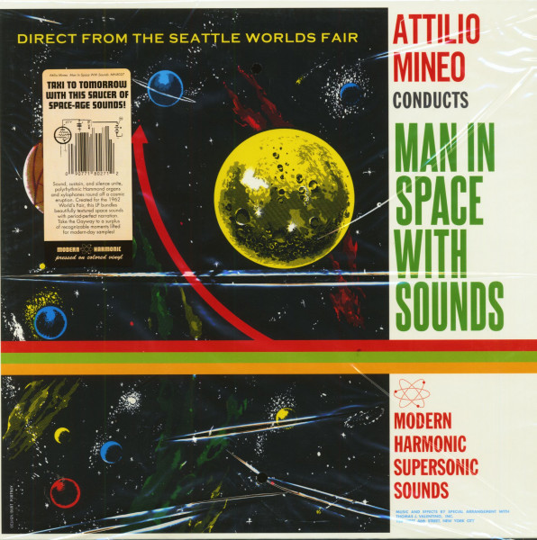 Man In Space With Sounds (LP)
