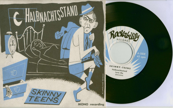 Halbnachtsstand (7inch, EP, 45rpm, PS, BC)