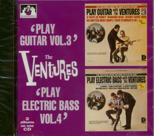 Play Guitar Vol.3 - Play Electric Bass Vol.4
