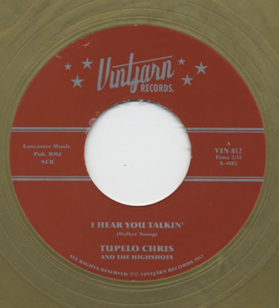 I Hear You Talkin' b-w Sea Of Hearbreak 7inch, 45rpm