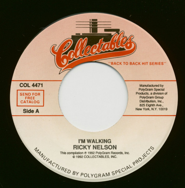 I'm Walking - A Teenager's Romance (7inch, 45rpm)