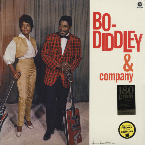 Bo Diddley & Company...plus (1962) 180g Vinyl Limited Edition