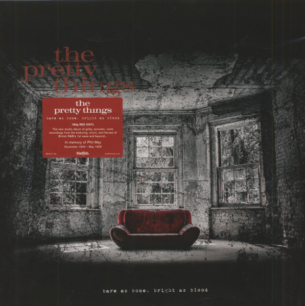 Bare As Bone, Bright As Blood (LP, 180g Red Vinyl)