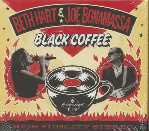 Beth Hart & Joe Bonamassa - Black Coffee (CD, Ltd.)