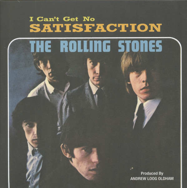 I Can't Get No Satisfaction - 50th Anniversary Limited Numbered Edition (45rpm LP)