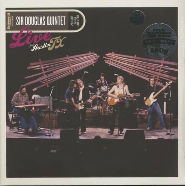 Live From Austin, Tx (2-LP, 180g Vinyl)