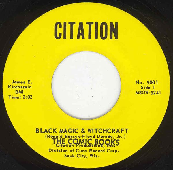Black Magic & Witchcraft b-w Manuel 7inch, 45rpm