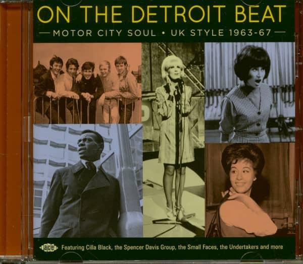 On The Detroit Beat - Motor City Soul UK Style 1963-67 (CD)