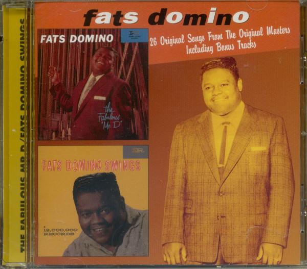 The Fabulous MR.D - Fats Domino Swings...plus (CD)