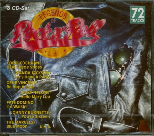 Legends Of Rock'N'Roll (3-CD)