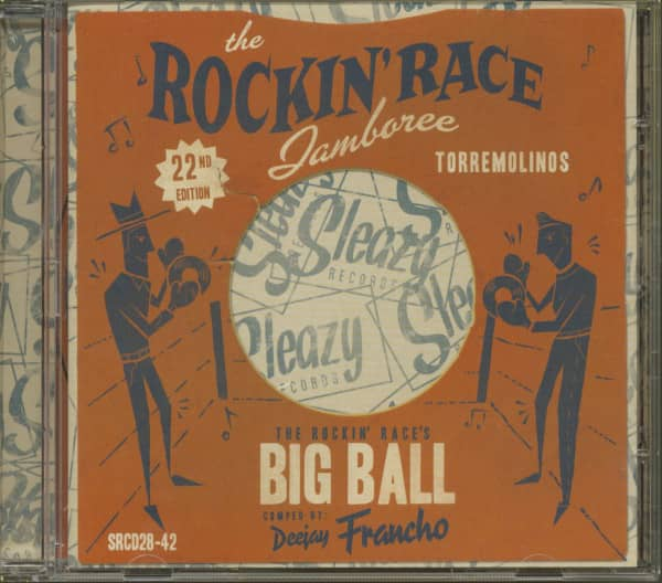 The Rockin Race Jamboree - 22nd Edition (CD)