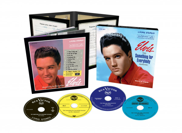 The Something For Everybody Sessions (4-CD)