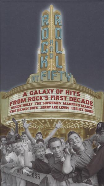Rock & Roll At 50 - Galaxy Of Hits (3-CD)
