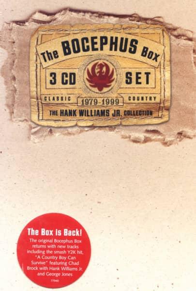 The Bocephus Box 1979-1999 Collection 3-CD
