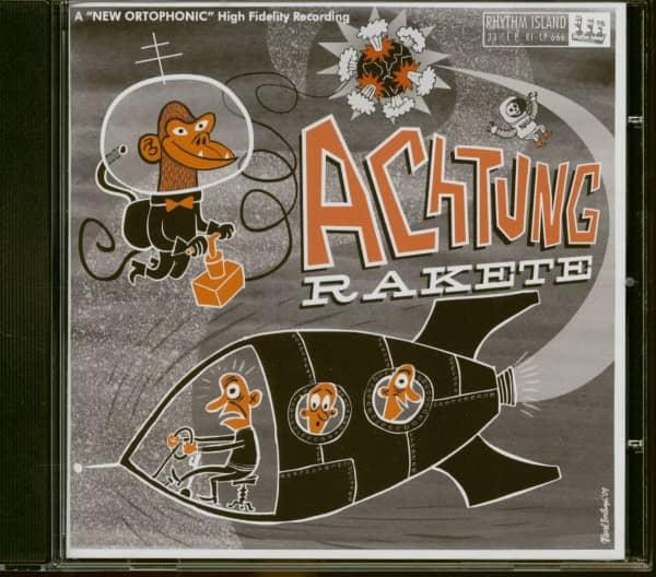 Achtung Rakete (CD)