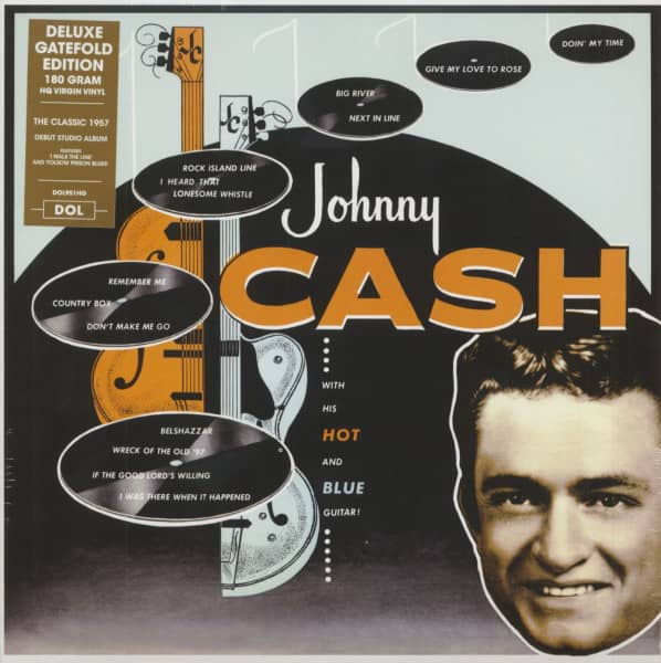 Johnny Cash With His Hot And Blue Guitar (LP, 180g Vinyl)