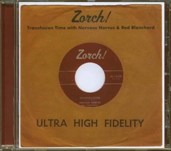 Zorch! - Transfusion Time With Nervous Norvus & Red Blanchard (CD)