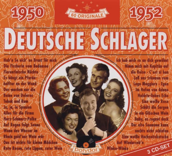 Deutsche Schlager 1950-1952 3-CD