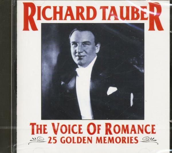 The Voice Of Romance - 25 Golden Memories (CD)