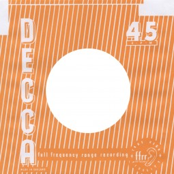 (10) Decca England - 45rpm record sleeve - 7inch Single Cover