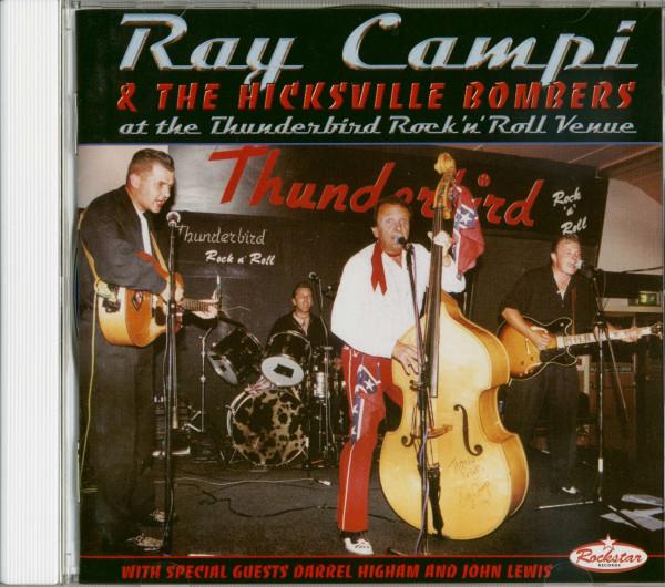 Ray Campi & The Hicksville Bombers At The Thunderbird