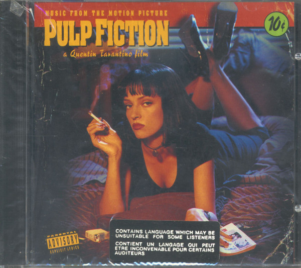 Music From The Motion Picture Pulp Fiction - A Quentin Tarantino Film (CD)