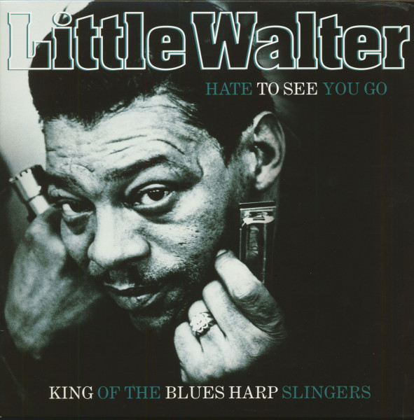 Hate to See You Go - King of Blues Harp Slingers (LP, 180g Vinyl)