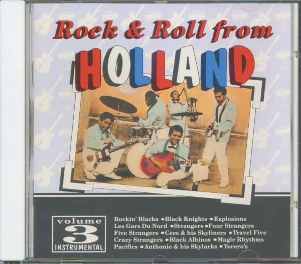 Rock & Roll From Holland, Vol.3 (CD)