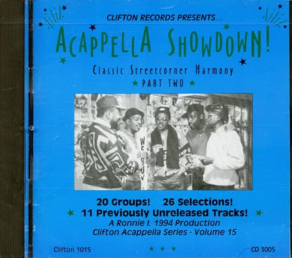 Acappella Showdown Vol.2 (CD)