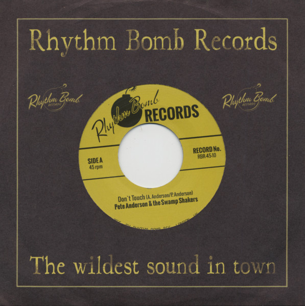 Don't Touch b-w You Gotta Be Mine 7inch, 45rpm
