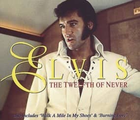 The Twelfth Of Never - CD Single Promo