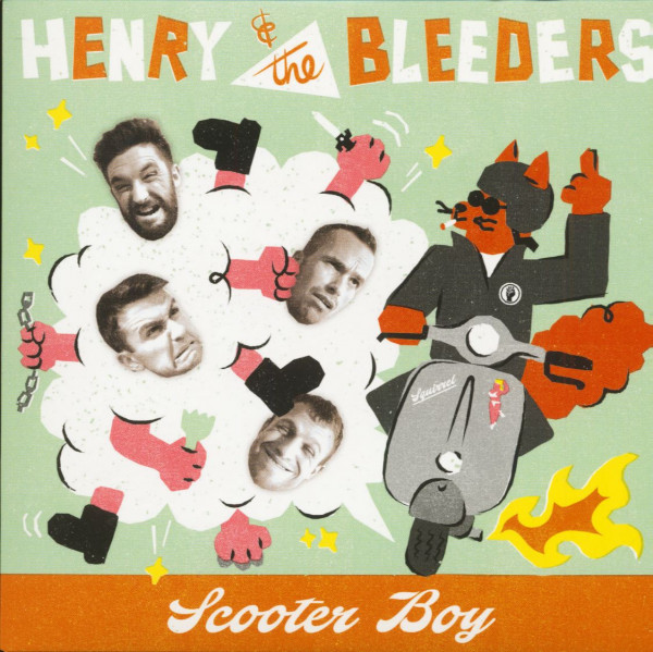 Scooter Boy (7inch, EP, 45rpm, PS)