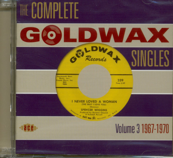 The Complete Goldwax Singles Vol.3 (2-CD)
