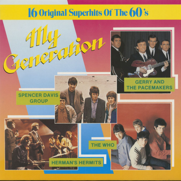 My Generation - 16 Original Superhits Of The 60s (LP)