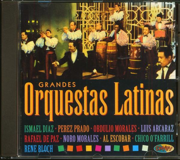Grandes Orquestas Latinas (CD)
