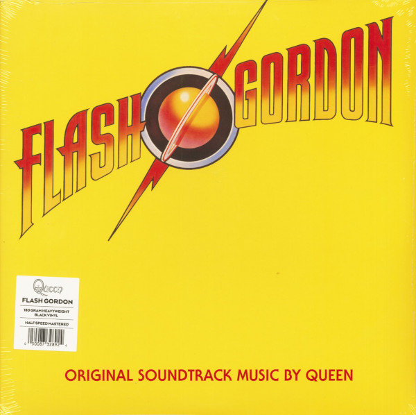 Flash Gordon - Original Soundtrack Music (LP, 180g Vinyl)
