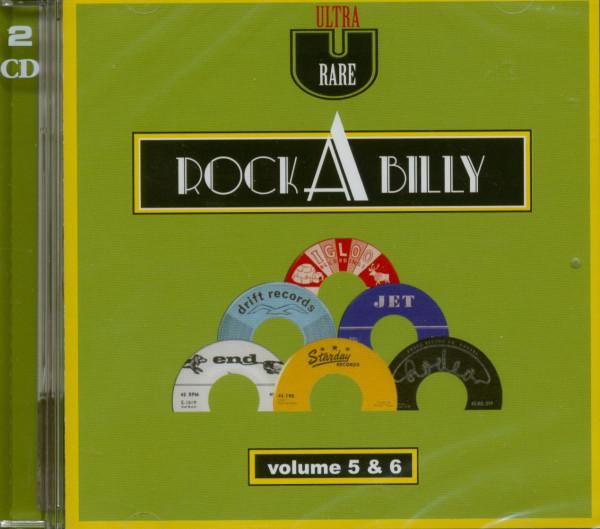 Ultra Rare Rockabilly Vol.5 & Vol.6 (2-CD)