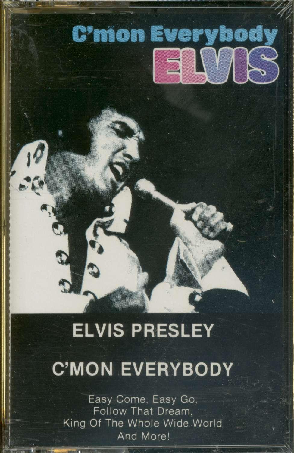 Elvis Presley Cassette C Mon Everybody Mc Bear Family