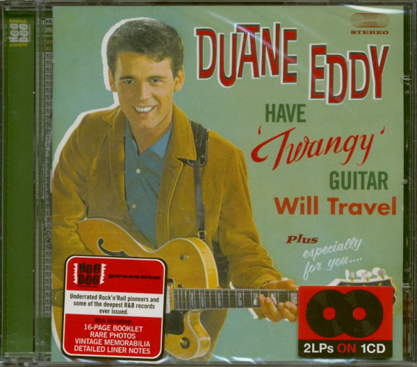 Have 'Twangy' Guitar Will Travel Plus Especially For You (CD)