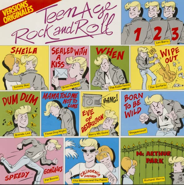 Teenage Rock And Roll (LP)