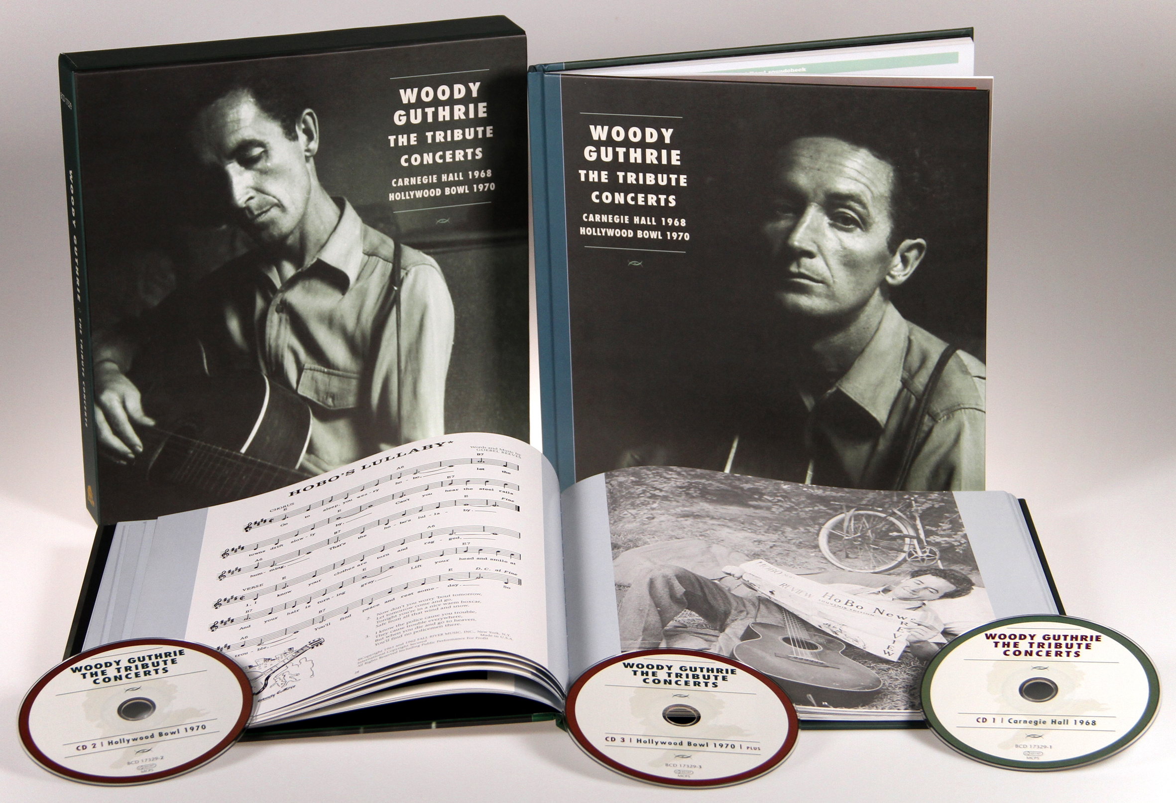 6d3803707 Woody Guthrie Box set  Woody Guthrie - The Tribute Concerts - Bear ...