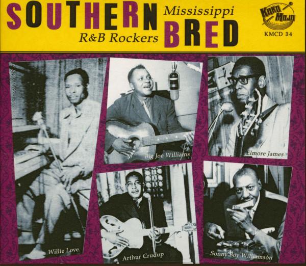 Southern Bred Vol.1 - Mississippi R&B Rockers (CD)