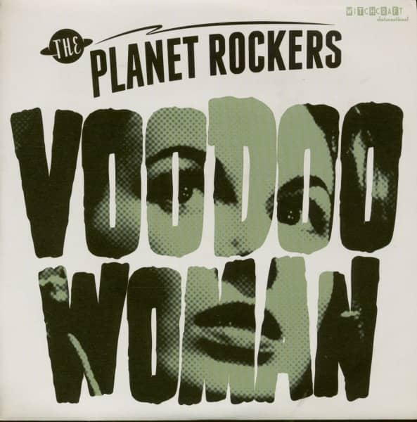 Voodoo Woman - Snakebit (7inch, 45rpm, PS)