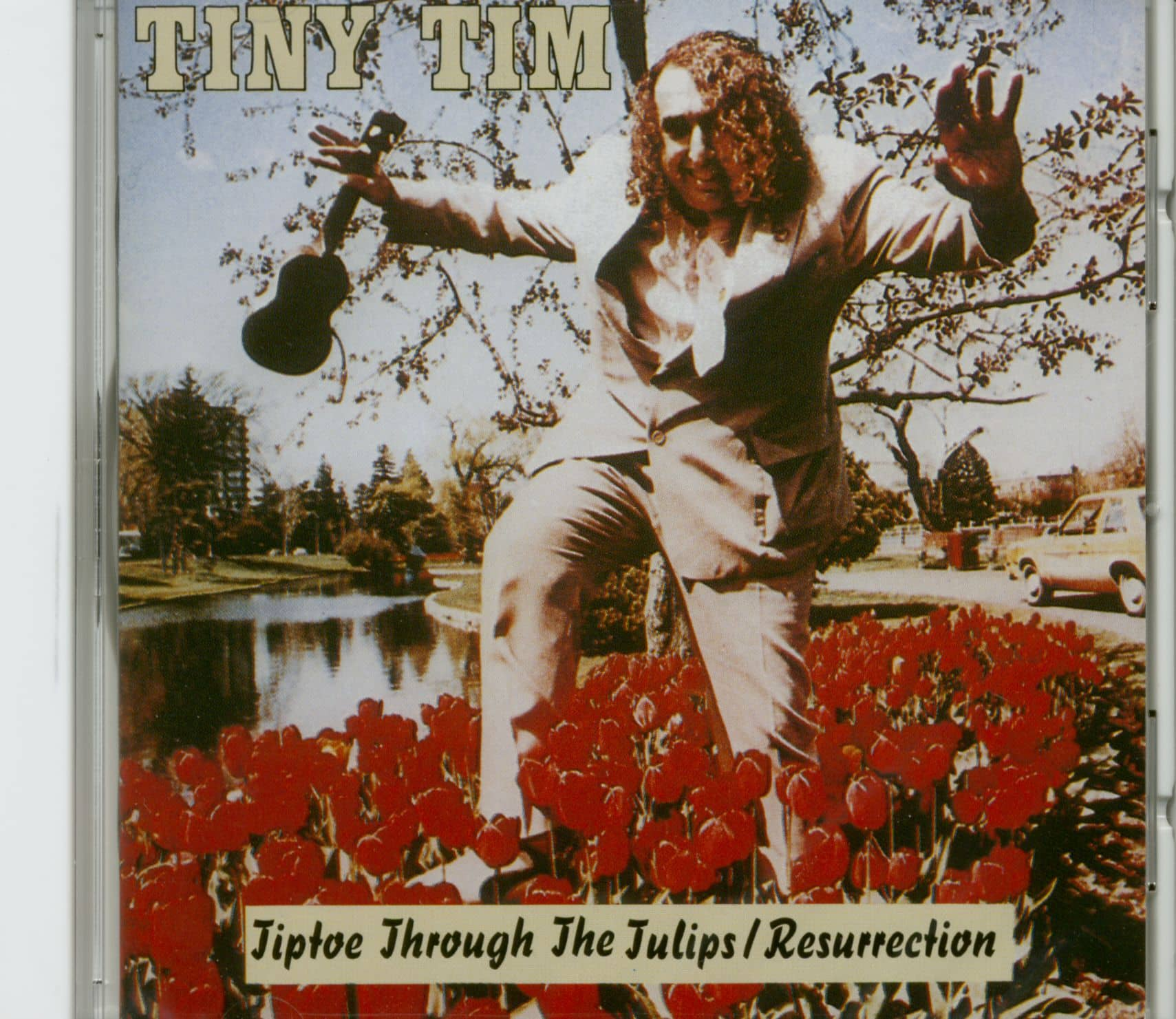 Tiptoeing Through Tulips After Madisons >> Tiny Tim Cd Tiptoe Through The Tulips Resurrection Cd Bear