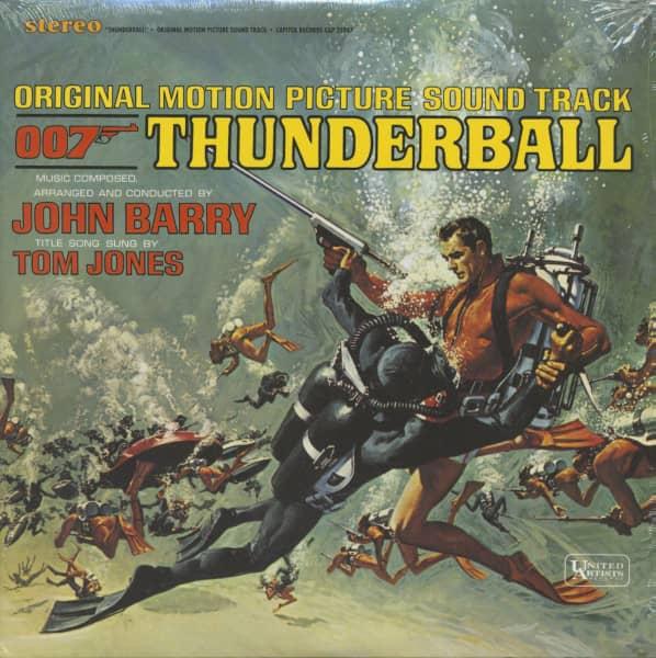 007 - Thunderball - Soundtrack (LP, 180g Vinyl)